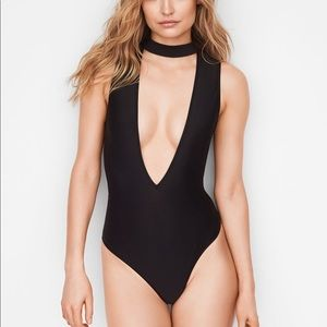 Victoria's Secret Very Sexy Choker Plunge Bodysuit